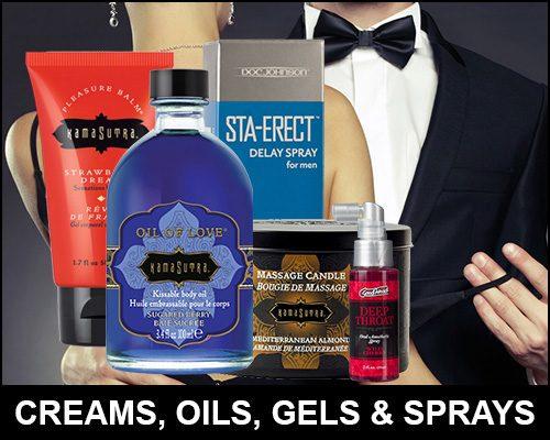 Creams Oils Gels Sprays